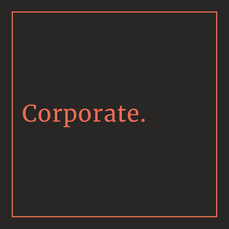 Nom de galerie : Corporate