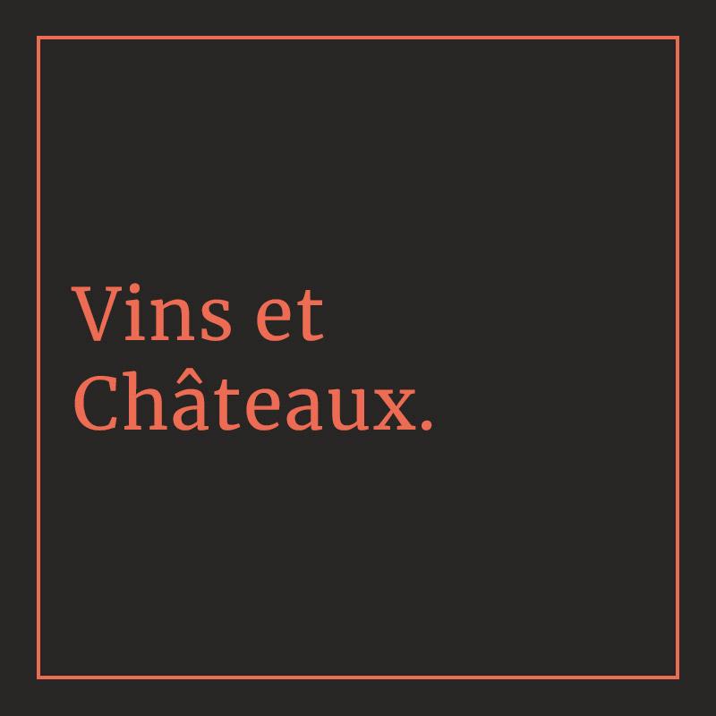Nom de galerie : Vins et Châteaux