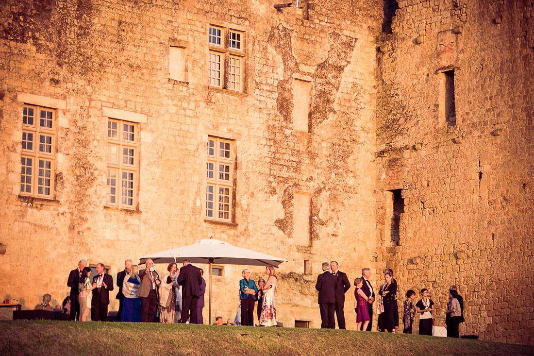 Photo événementiel dans un château