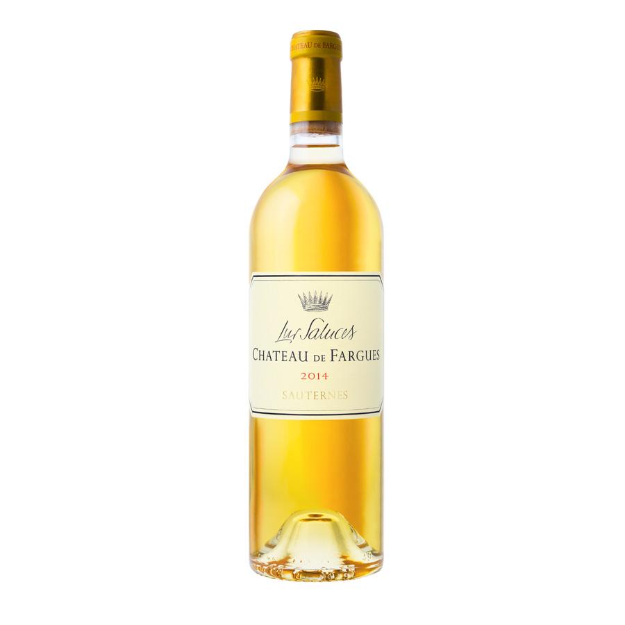 Packshot d'une bouteille de Château de Fargues