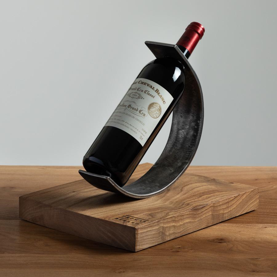 Photo d'un porte bouteille réalisée en studio à Bordeaux